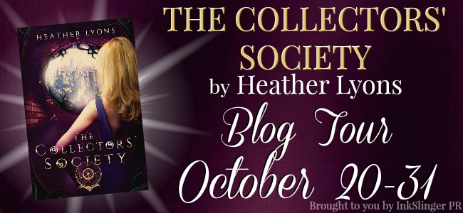 Review & Giveaway - The Collectors' Society by Heather Lyons