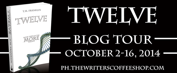 Review & Giveaway - Twelve by T.M. Franklin