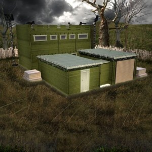 Zombie Fortification Cabin ZFC-1