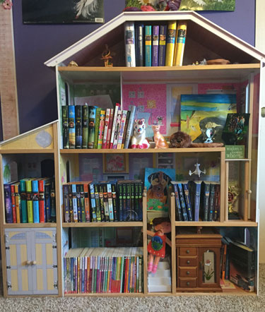 Who needs dolls when you've got BOOKS?!