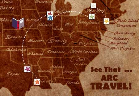 Traveling-ARC-Map