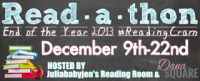 End of the Year 2013 #ReadingCram Read-a-thon