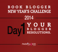 Book Blogger New Year's Challenge Day 1