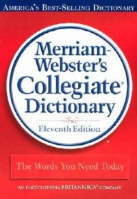 5 Star Review – Merriam-Webster's Collegiate Dictionary