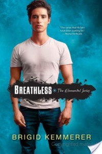 Mini-Review – Breathless (Elemental #3.5) by Brigid Kemmerer