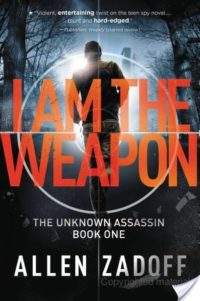 Review – I Am the Weapon by Allen Zadoff