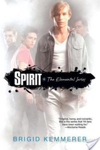 Review – Spirit (Elemental #3) by Brigid Kemmerer