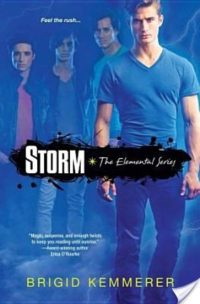 Review: Storm (Elemental #1) by Brigid Kemmerer (Plus Mini-Reviews of Books #0.5 & #1.5)