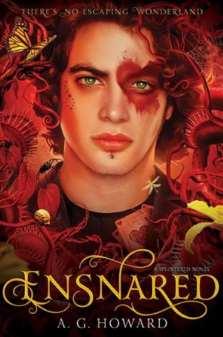 Waiting on Wednesday (& Mini-Review of First Three Chapters of Ensnared by A.G. Howard)