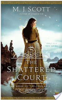 The Shattered Court by M.J. Scott – Review