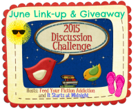 June Discussion Challenge Link-up & Giveaway