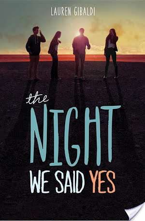 The Night We Said Yes by Lauren Gibaldi – Review