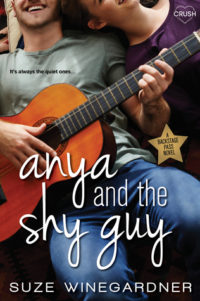 Anya and the Shy Guy by Suze Winegardner – Review & Winegardner's Top Ten Addictions