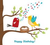 Happy birthday graphic