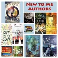 Top Ten New to Me Authors I Read in 2015