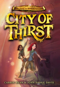 Bite Sized Reviews: The Map to Everywhere and City of Thirst by Carrie Ryan