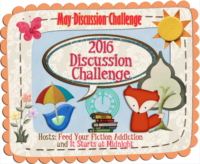 May Discussion Challenge Link-Up & Giveaway