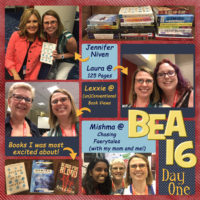 #BEA16 Day One Wrap-Up & Giveaway!!
