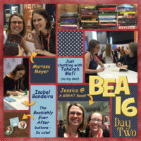 #BEA16 Day Two Wrap-Up & Jennifer Niven Holding Up the Universe Giveaway!!