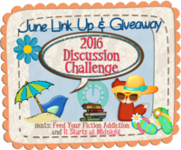 June Discussion Challenge Link-Up and Giveaway!