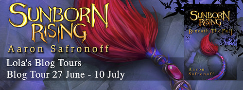 Sunborn Rising: Beneath the Fall by Aaron Safronoff – Review & Giveaway