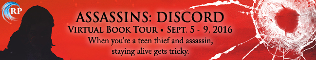 Assassins: Discord by Erica Cameron – Review, Author Playlist & Giveaway