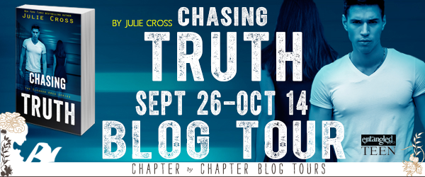 Chasing Truth by Julie Cross - Review, Giveaway & Cross's Top Ten Addictions