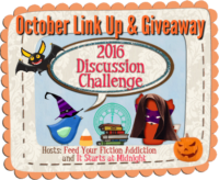 October Discussion Challenge Link-Up & Giveaway