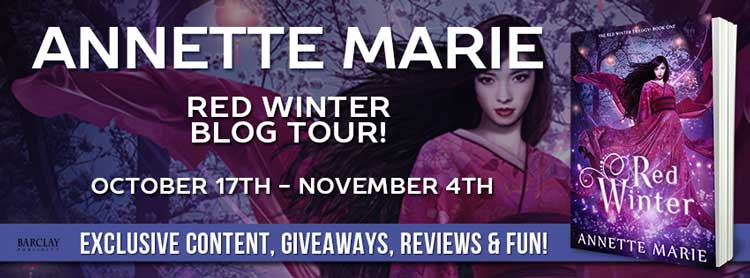 Red Winter by Annette Marie - Review & Giveaway