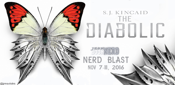 The Diabolic by S.J. Kincaid - Review & Giveaway