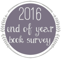 2016 End of Year Book Survey
