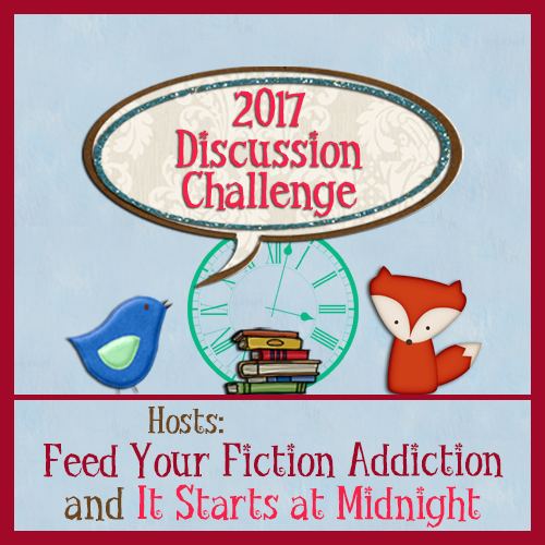 2017 Book Blog Discussion Challenge