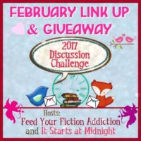 February Discussion Challenge Link-Up & Giveaway