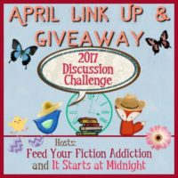 April Discussion Challenge Link-Up & Giveaway