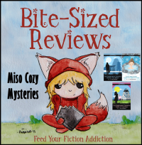 Bite Sized Reviews of the Miso Cozy Series by S.J. Pajonas (& Pajonas's Top Ten Addictions)
