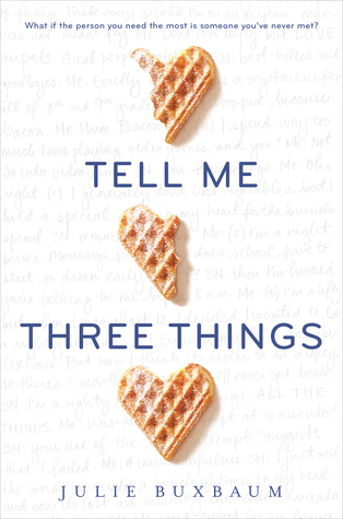 Bite-Sized Reviews of The Names They Gave Us, The Crown's Fate, Tell Me Three Things and We Were Liars