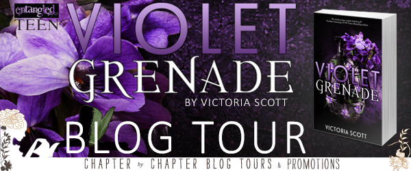 Violet Grenade by Victoria Scott: Review, Giveaway & Scott's Top 5 Writing Snack Attack Addictions