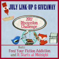 July Discussion Challenge Link-Up & Giveaway