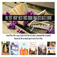 The 2017 RITA 'Best First Book' Finalists Giveaway