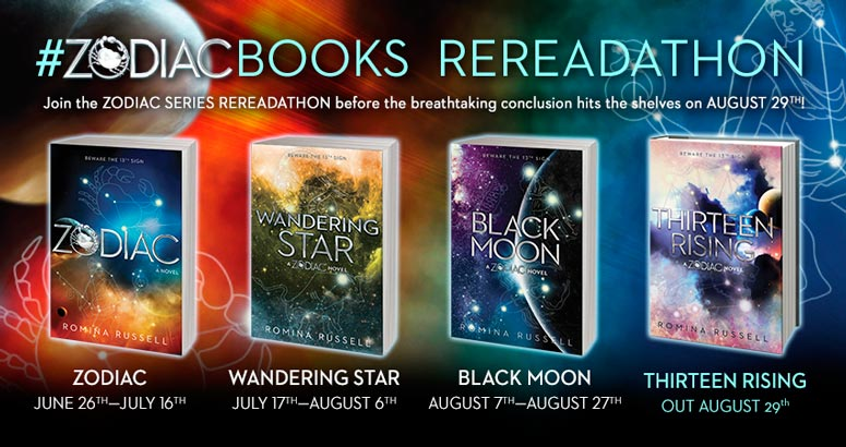 Wandering Star by Romina Russell: A Rereadathon Review & Giveaway!