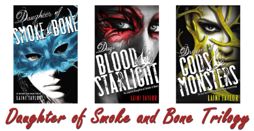 Bite-Sized Reviews Audiobook Edition: Midnight Jewel, Daughter of Smoke and Bone Trilogy, Firstlife and Of Beast and Beauty