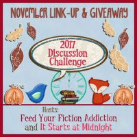 November Discussion Challenge Link-Up & Giveaway