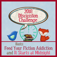 2018 Book Blog Discussion Challenge Sign-Up