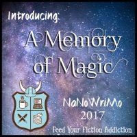 Introducing My 2017 NaNoWriMo Novel