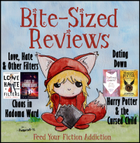 Bite-Sized Reviews of Love, Hate & Other Filters, Chaos in Kadoma Ward, Dating Down, and Harry Potter & the Cursed Child