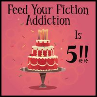 It's Feed Your Fiction Addiction's 5th Blogoversary Giveaway!