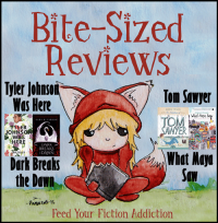Bite-Sized Reviews of Tyler Johnson Was Here, Dark Breaks the Dawn, Tom Sawyer and What Maya Saw