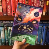 The Storm Runner by J.C. Cervantes: Hispanic and Disability Rep + Mythology Not Many of Us Know About