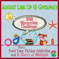August 2018 Book Blog Discussion Challenge Link-Up & Giveaway