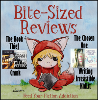 Bite-Sized Reviews of The Book Thief, Crank, The Chosen One and Writing Irresistible KidLit